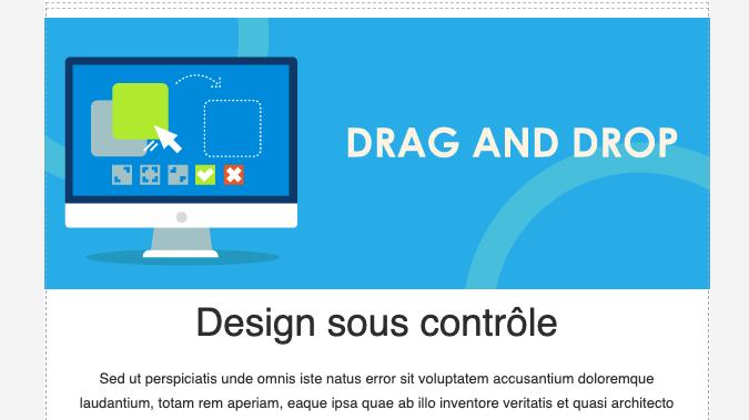 Design sous contrôle : un nouvel éditeur visuel pour vos emails