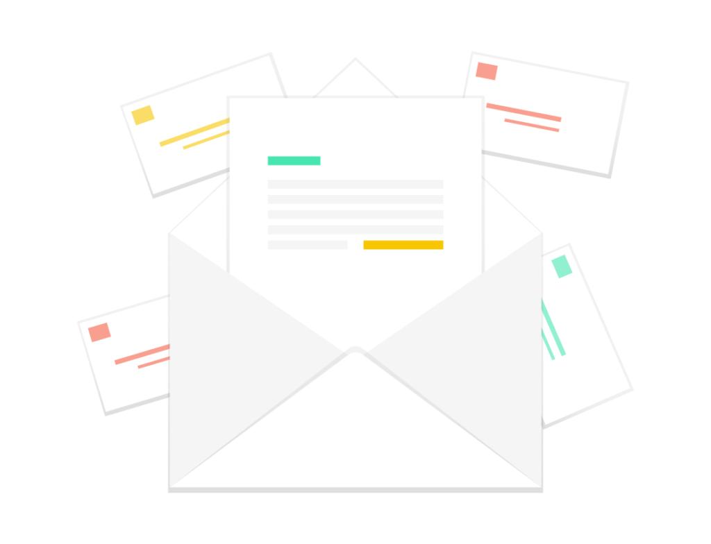 Envoyer des courriers par le web