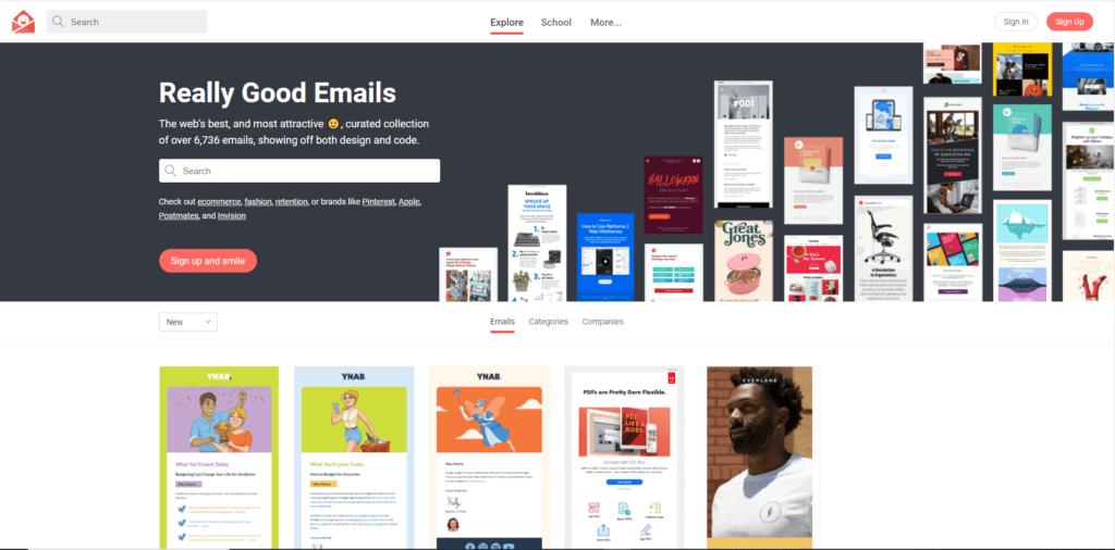 Création emailing : 17 sites pour trouver de l'inspiration 11