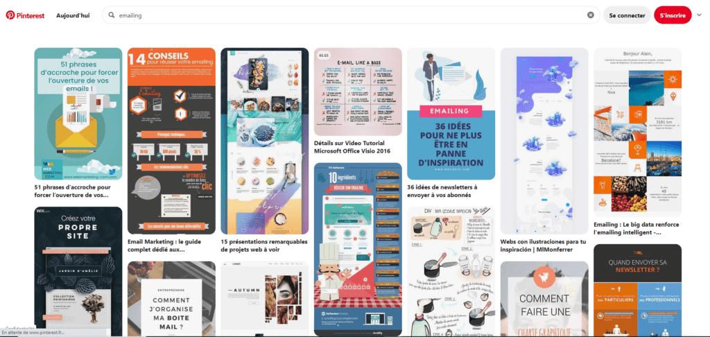 Création emailing : 17 sites pour trouver de l'inspiration 10