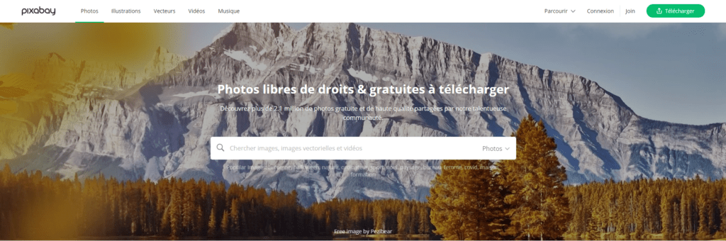 pixabay, banque d'image libre de droit