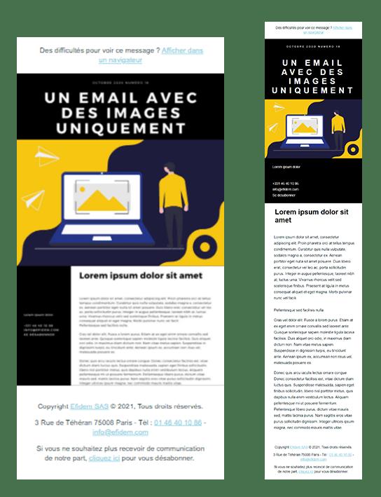 Pourquoi il faut bannir les emails contenant uniquement des images 2